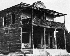 Colfax Hotel, New Mexico in the 1970s