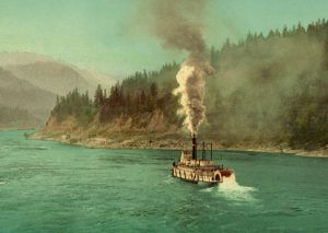 Columbia River below the Cascades,