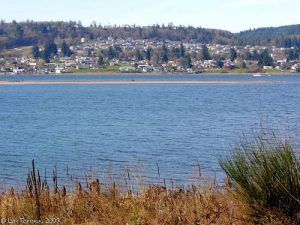 Columbia City courtesy Lewis and Clark's Columbia River