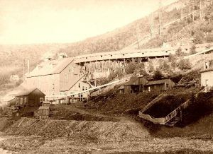 The De Smet Gold Stamp Mill.
