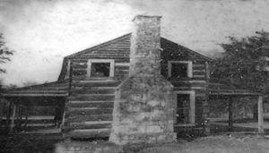 The old Doaksville Hotel