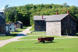 Fayette Historic Town Site, Michigan