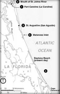 Florida Fort Map