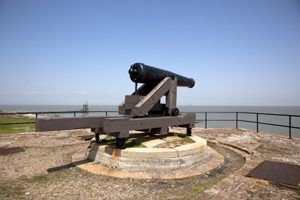 Fort Gaines, Alabama Cannon