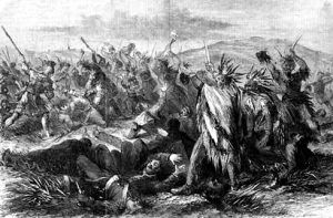 Fort Kearney Massacre in 1866