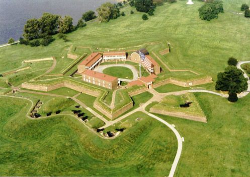 Fort McHenry, Baltimore, Maryland