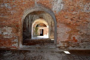 Fort Morgan, Alabama Tunnels