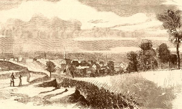 After the battle, Brigadier General John A. Logan's troops entered the town of Port Gibson, Mississippi.