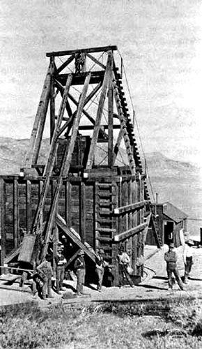 Gold Bar Hoisting Plant, 1906