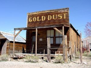 Gold Dust in Gold Point, Nevada