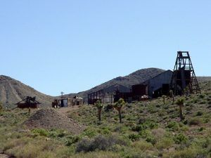 Abandoned Mine, Gold Point, Nevada
