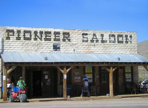 The Pioneer Saloon continues to serve customers today