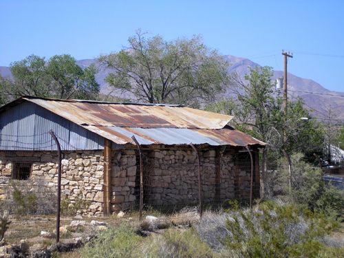 Oldest building in Goodsprings, Nevada
