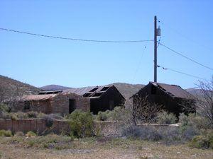 Goodsprings, Nevada ruins