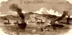 Grand Gulf, Mississippi Attack by Union Forces