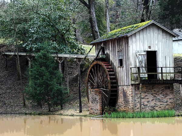 Water Mill at Grand Gulf Military Park