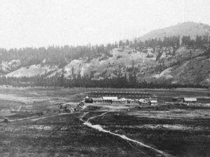 Hudsons Bay Company at Fort Colville, Oregon, 1860