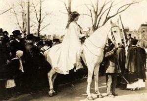 Inez Milholland Suffrage Parade 1913