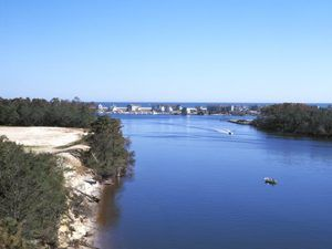 Intercoastal Waterway near Wilmington, North Carolina