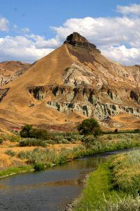 The Blue Bucket Mines is thought to be near the John Day River in Oregon. Photo courtesy Wikipedia.