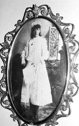 Josephita Otero as a young girl