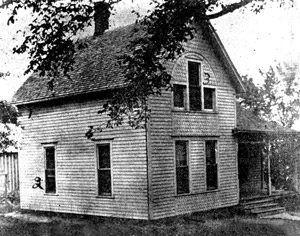 Josiah Moore home on June 10, 1912.
