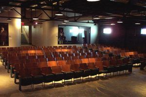 Inside the Tulsa Littel Theatre, photo courtesy  Tulsa Little Theatre