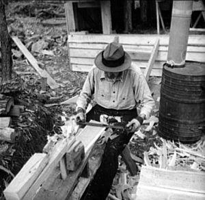 Making shingles by hand