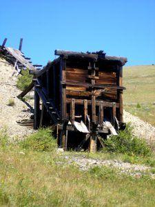 Marysville, MT - Mining Ruins