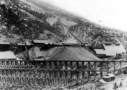 Historic Marysville Train Trestle and Mine.