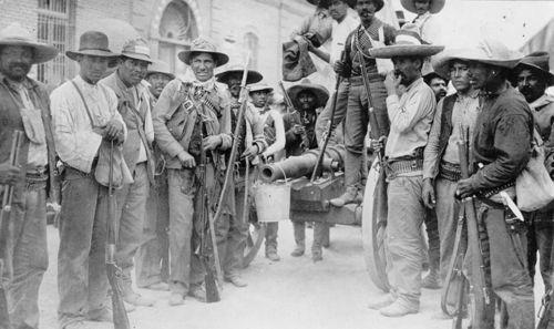 Mexican insurrectos in Juarez, 1911