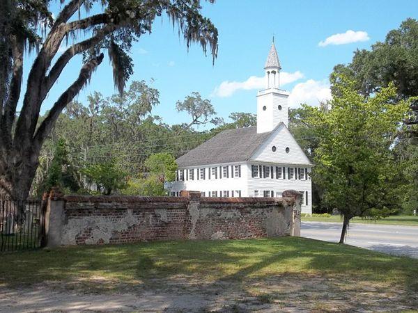 Midway, Georgia Church & Cemetery