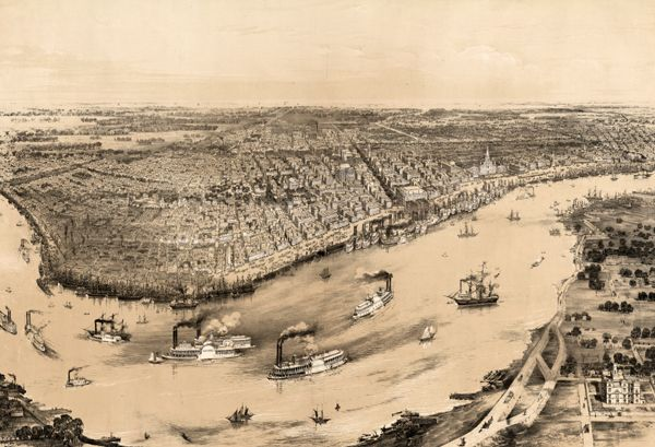 New Orleans, Louisiana 1851