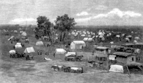 Oklahoma city Founding