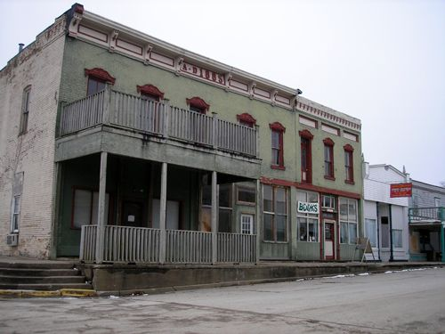 Osceola, Missouri Buildings today.