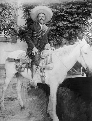 Pancho Villa, early 1900s