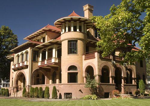 Patsy Clark Mansion, Spokane, Washington