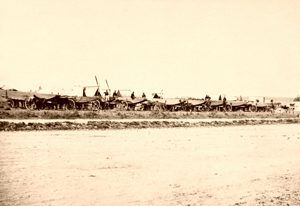 Pontoon Train, Civil War