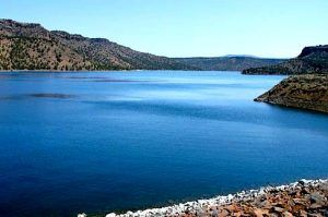 Prineville Reservoir at Bowman Dam, Oregon