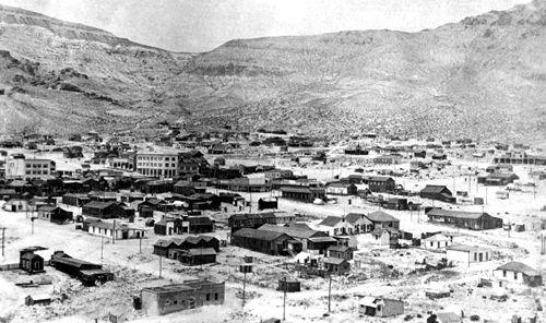 Rhyolite and the Bullfrog Hills, 1909