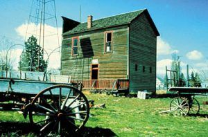 Shaniko Ghost Town, Wasco County, photo courtesy Oregon Tourism Commission