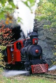 Silver Dollar City Train in Branson, Missouri