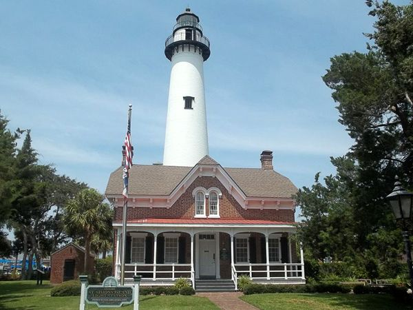 St. Simons Island Light, Georgia