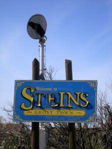 Steins, New Mexico Sign