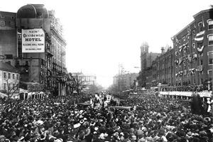 Suffrage Parade 1913