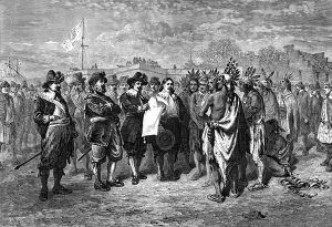 Treaty with the Indians at New Amsterdam