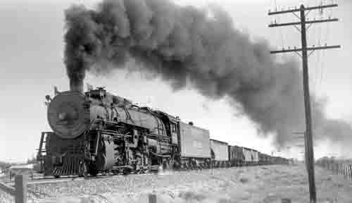 Union Pacific Train, late 1800s