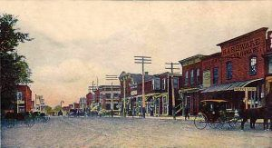 Villisca, Iowa in the early 1900's.