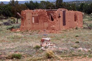 Old House in Abo, New Mexico