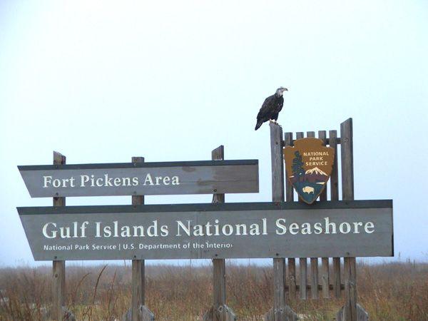 Gulf Islands National Seashore Sign